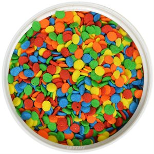 Bright Confetti Shape Sprinkles