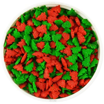 Red & Green Tree Sprinkles