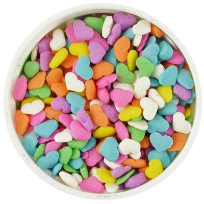 Pastel Heart Shape Sprinkles