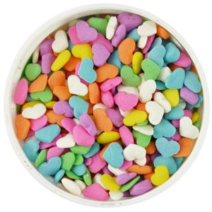Pastel Heart Shape Sprinkles