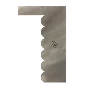 Fancey Stainless Steel Comb-Wave Shape