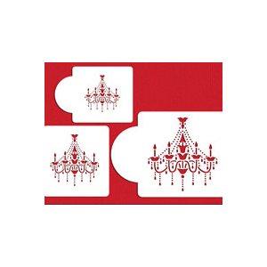 Chandelier Stencil Set