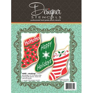 Stocking Stencil & Cookie Cutter