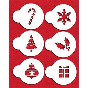 Christmas Cupcake  /  Cookie Stencils