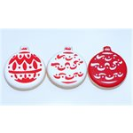 Ball Ornament Stencil & Cookie Cutter