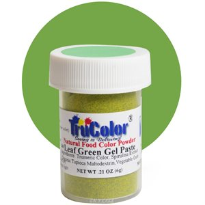 Leaf Green Gel Paste Natural Food Color 6 grams