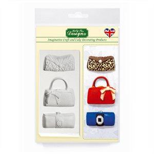 Designer Bags Silicone Mold By Katy Sue