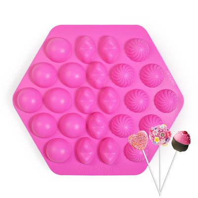 Cake Pop Silicone Mold-24 Cavity