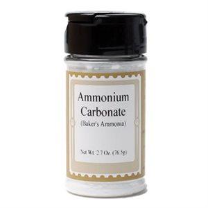 Baker's Ammonia  / Ammonium Carbonate 2.7 Ounce
