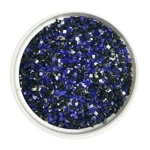 Black & Purple Glittery Sugar 3 Ounces