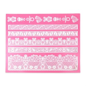 Bonnie Baby Large Mat- Cake Lace Mat By Claire Bowman
