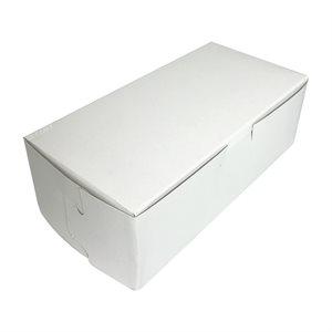 8 X 4 X 2 3 / 4 Inch White Cake Box