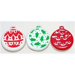 Christmas Balls Cookie Stencil