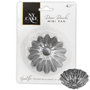Dome Brioche Mini Tart Set of 4