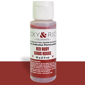 Red Ruby Gemstone Cocoa Butter By Roxy Rich 2 Ounce