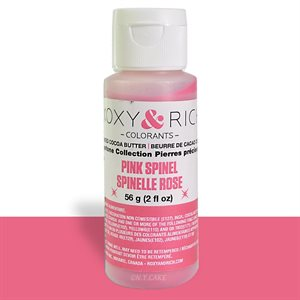 Pink Spinel Gemstone Cocoa Butter By Roxy Rich 2 Ounce