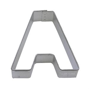 Alphabet Letter A  Cookie Cutter 2 3 / 4 Inch