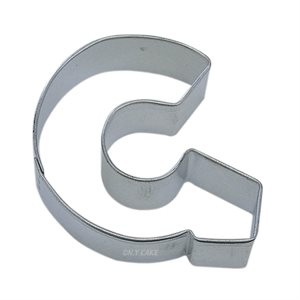 Alphabet Letter G Cookie Cutter 2 3 / 4 Inch