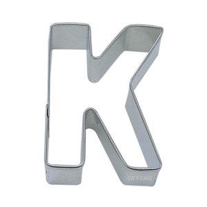Alphabet Letter K Cookie Cutter 2 3 / 4 Inch