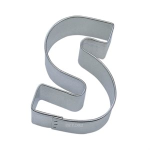 Alphabet Letter S Cookie Cutter 2 3 / 4 Inch
