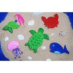 Sea Friends Cookie Cutter Set of 5