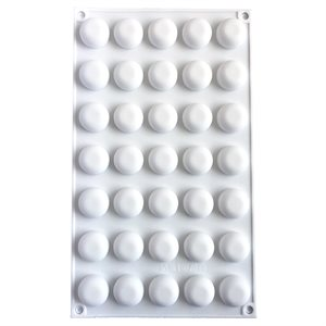 Mini Dome Silicone Baking & Freezing Mold .17 oz.
