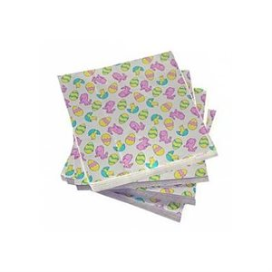 Easter Eggs Foil Square 4 Inch x 4 Inch