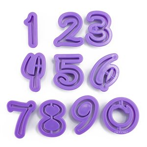 NumberCutter Set-Purple