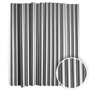 Metallic Silver Cake Pop Sticks- 6 Inch -Pack of 25