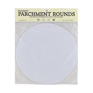 10 Inch Circle Parchment Paper Pack of 24