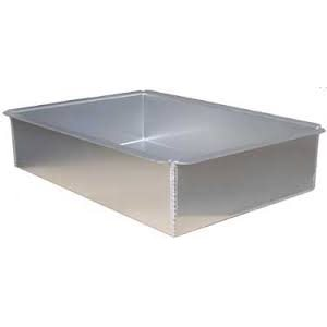 Rectangle Cake Pan 10 x 15 x 3 Inch
