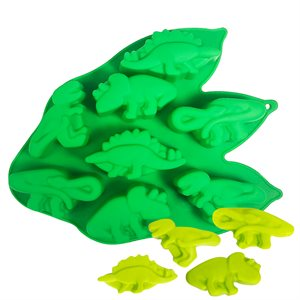 Silicone Baking Mold-Dinosaur Shape 8 Cavity