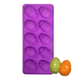 Easter Egg Silicone Mold-10 Cavity