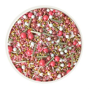 Vintage Rose Gold Sprinkle Mix 4 Oz
