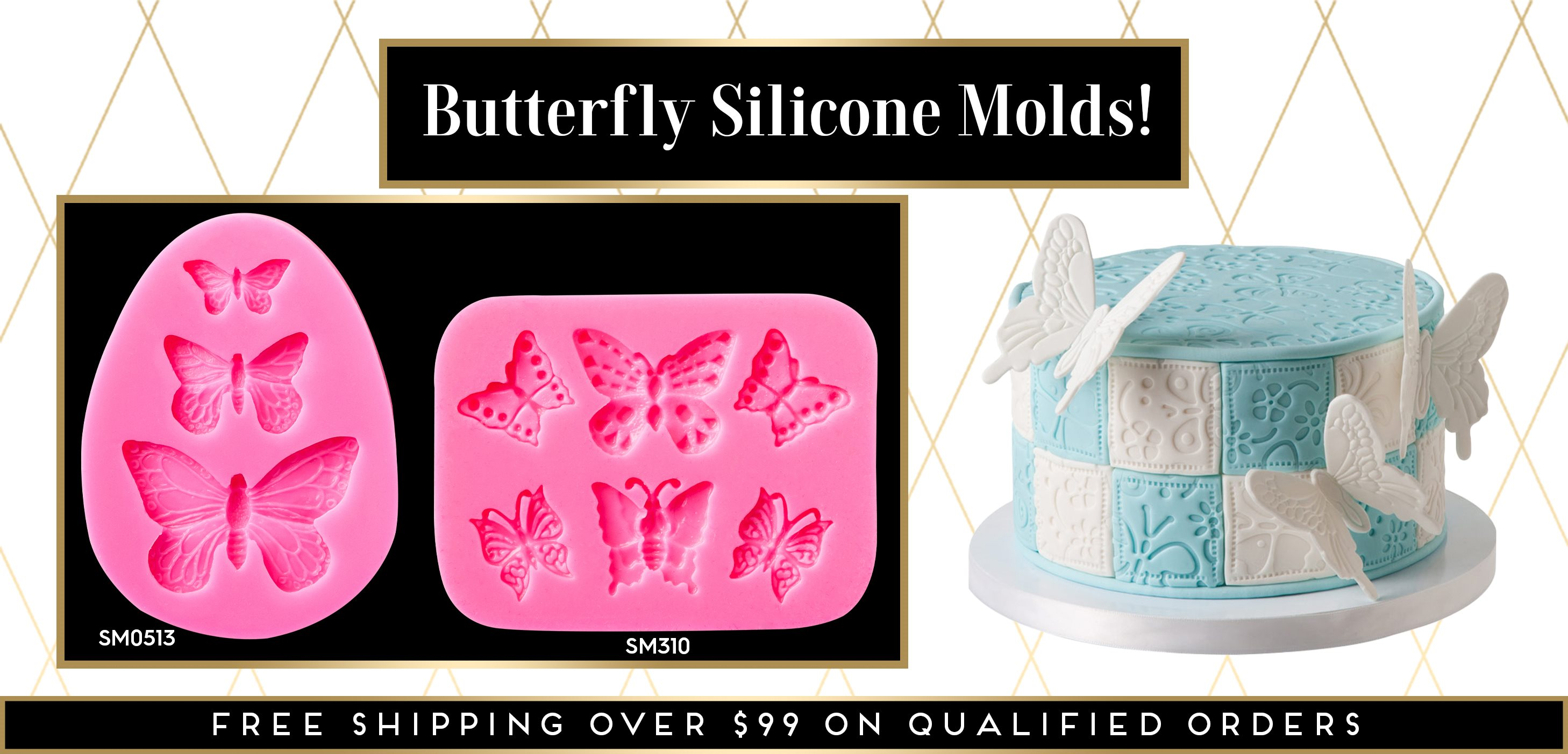 Butterfly Silicone Mold