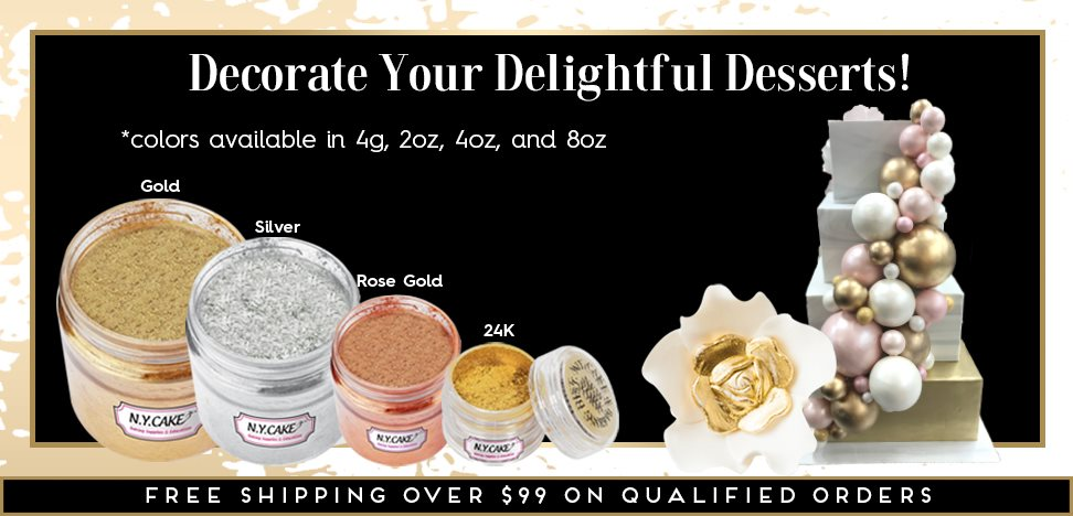 Gold Silver Rose Gold Highlighter Dust