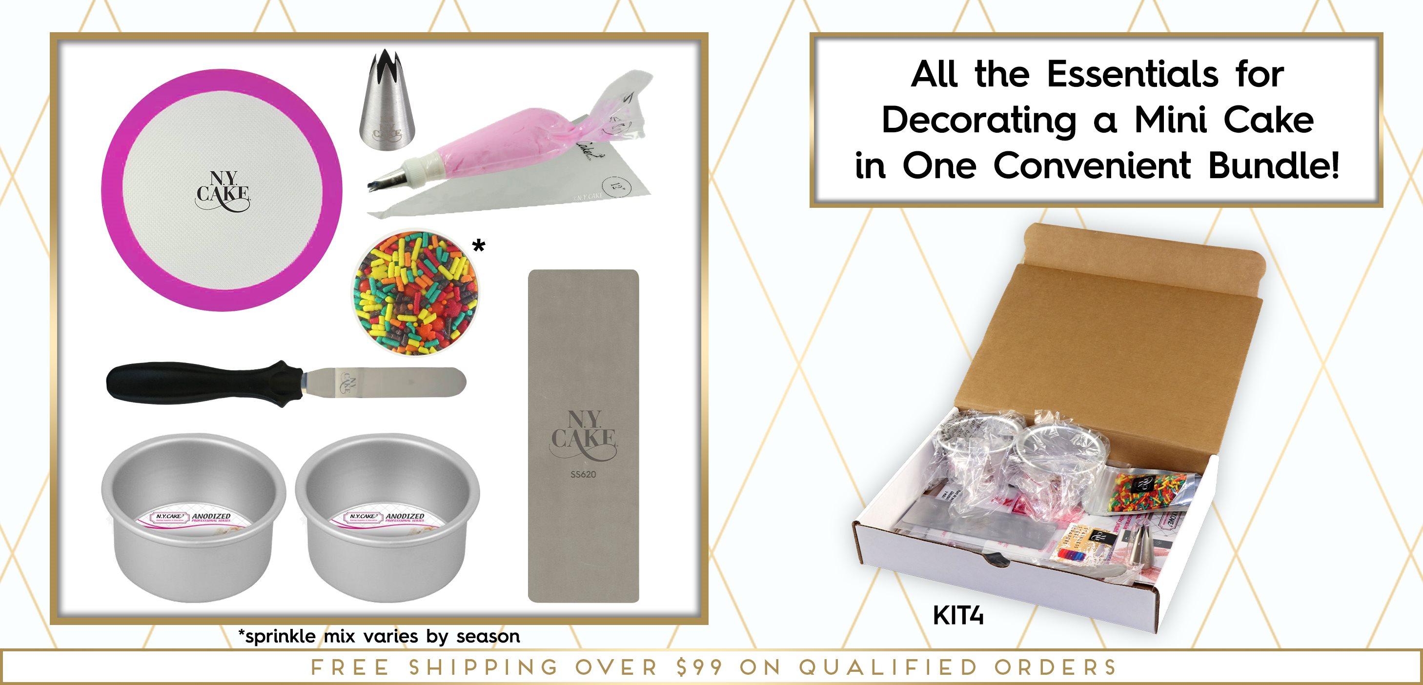 Mini Cake Decorating Kit