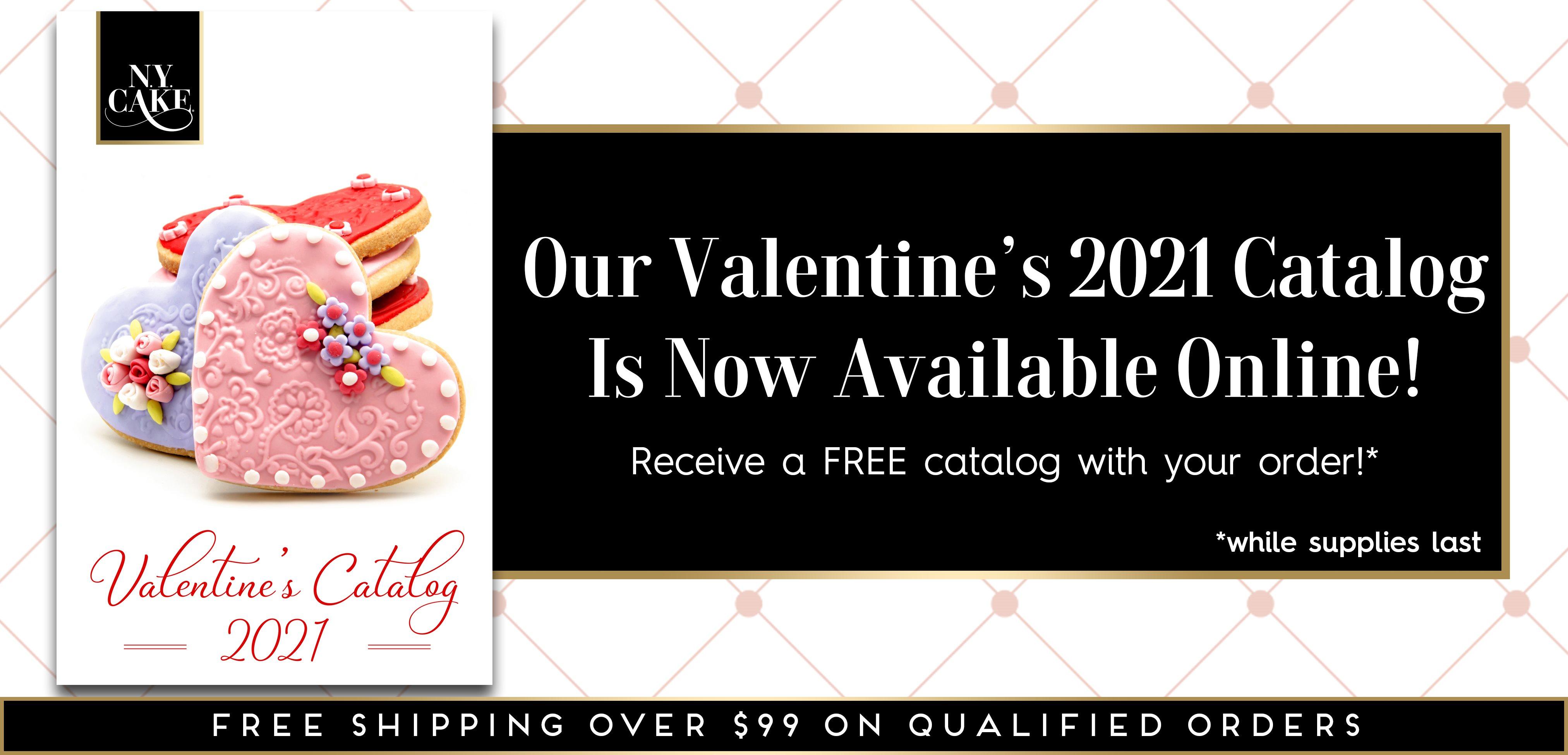 NY Cake Valentine's Product Catalog