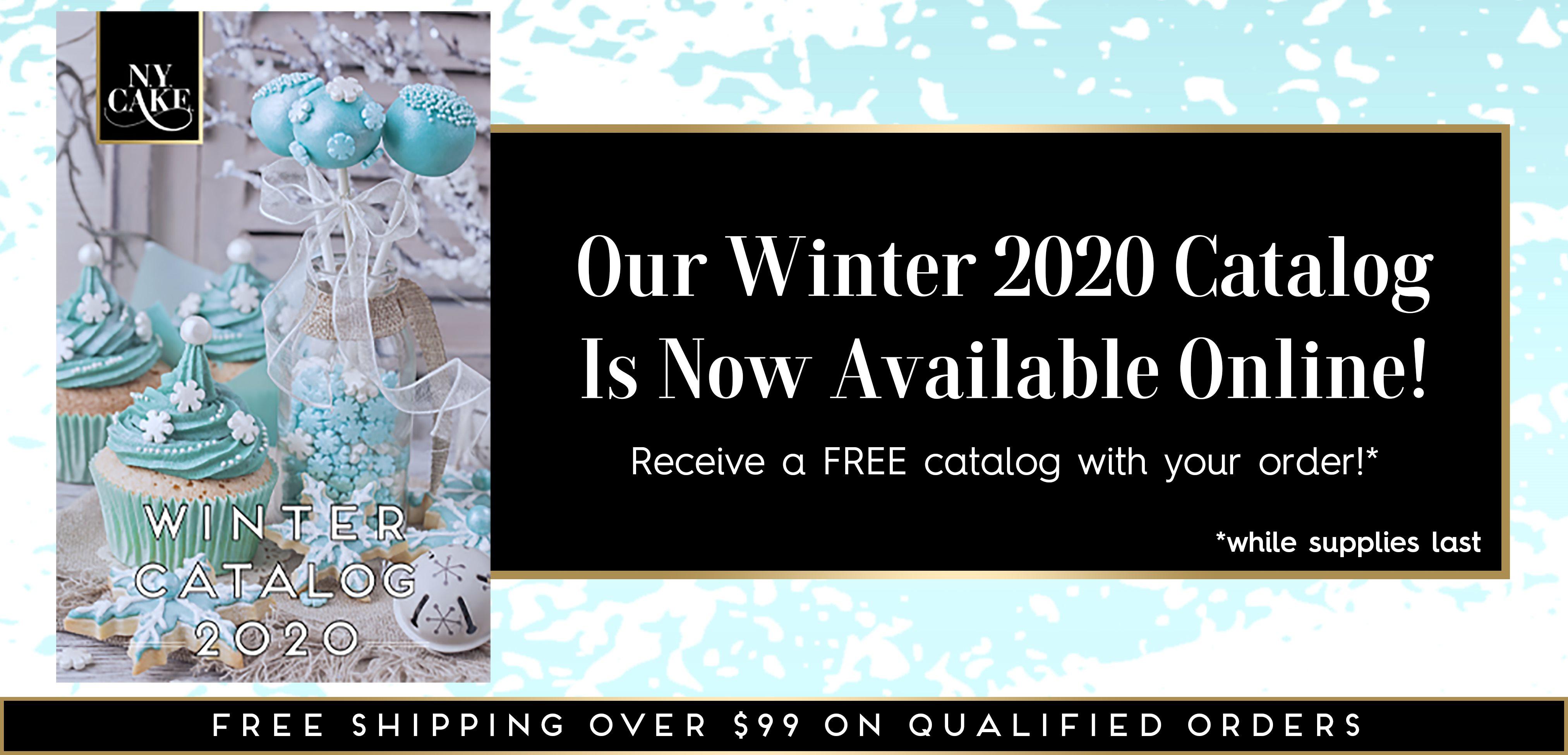 NY Cake Winter 2020 Product Catalog